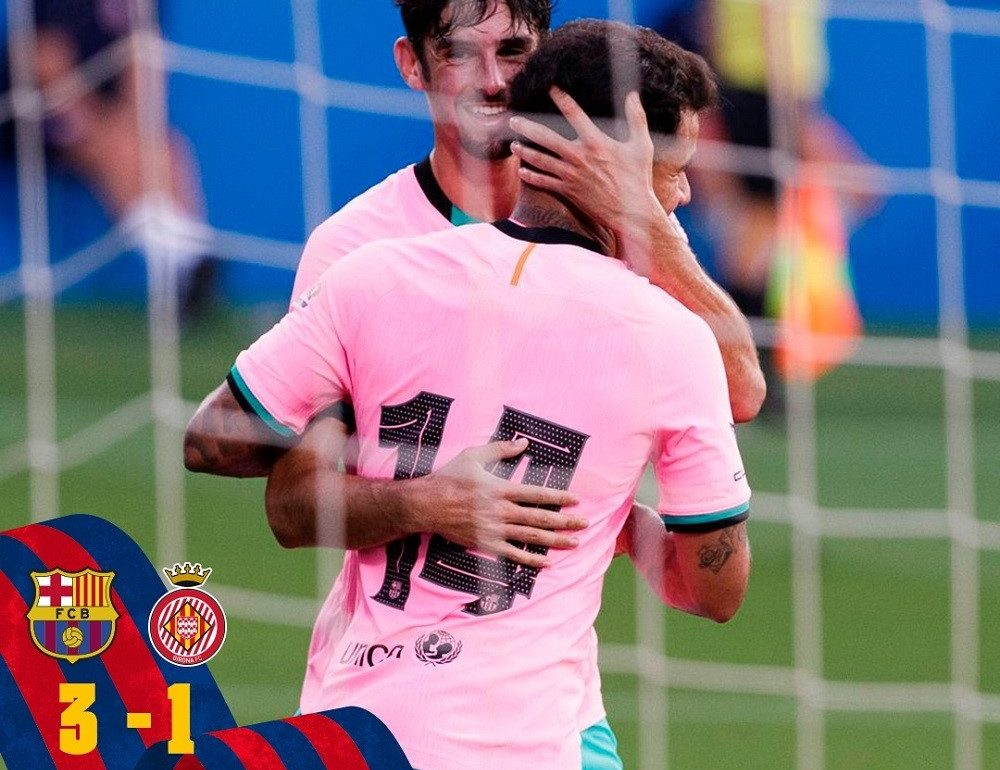 Barcelona Thrash Girona 3-1 Pre-season In Friendly