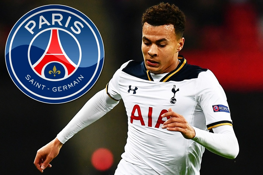 PSG In Talks With Tottenham To Sign Dele Alli