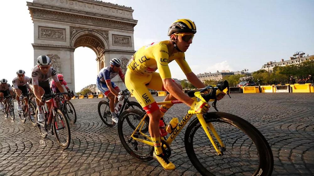 Tadej Pogačar Titled As The Winner Of Tour De France