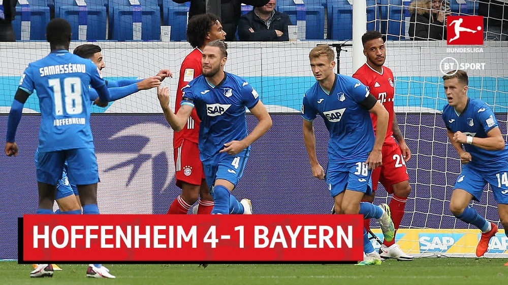 Hoffenheim Defeats Champions League Winners Bayern Munich