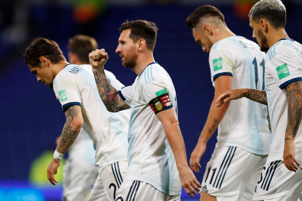 Argentina Win 1st Match Of World Cup Qualifiers Against Ecuador