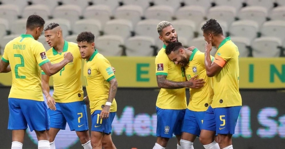 Brazil Thrashes Bolivia To Become Table Toppers In South America
