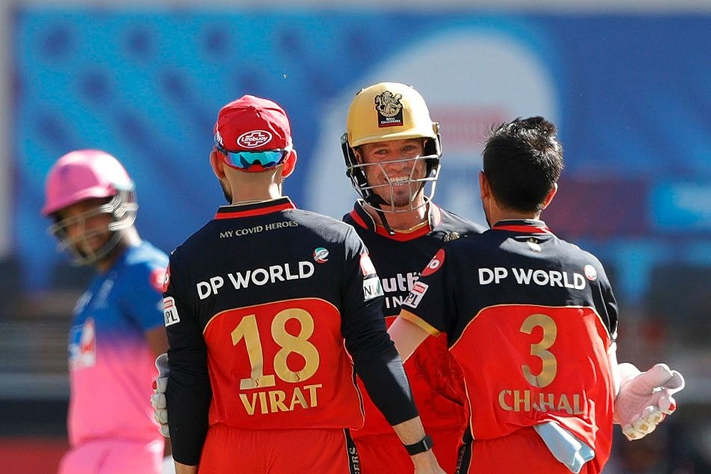 AB de Villiers Hammers Rajasthan Royals To Help RCB Win The Game