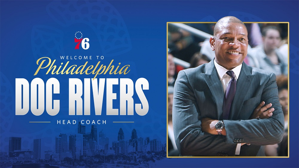 Philadelphia 76ers Hire Doc Rivers As Their Coach