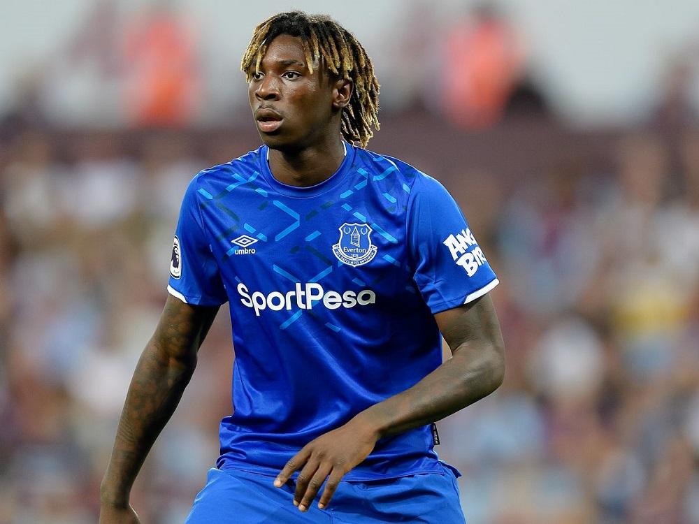PSG Signs Everton Forward Moise Kean On Loan