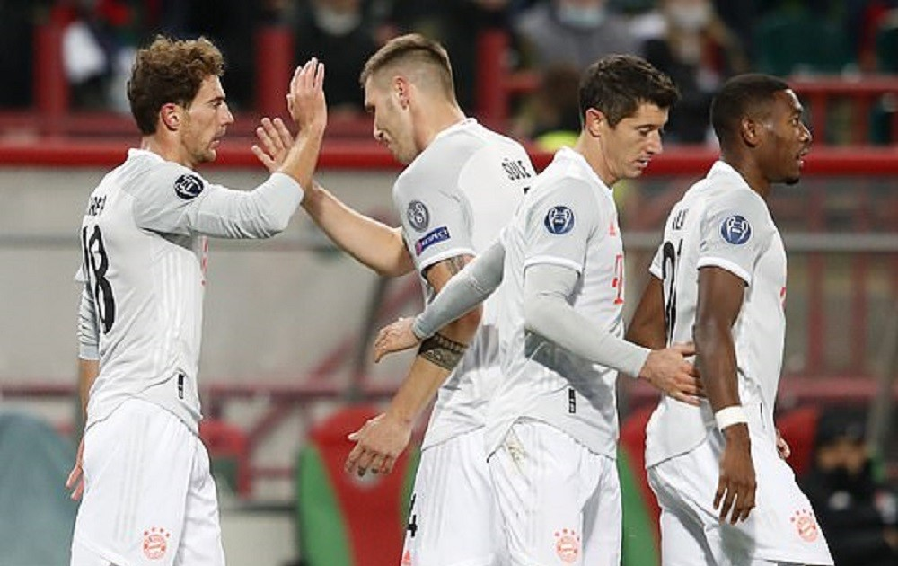 Bayern Munich earn more three points after defeating Lokomotive Moscow