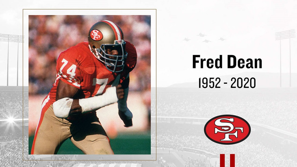 49ers Legend Fred Dean Passes Away At 68