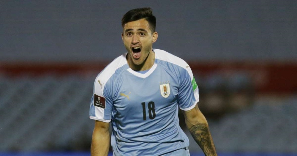 Uruguay Seal Victory With Late Goal In FIFA WC Qualifier Against Chile
