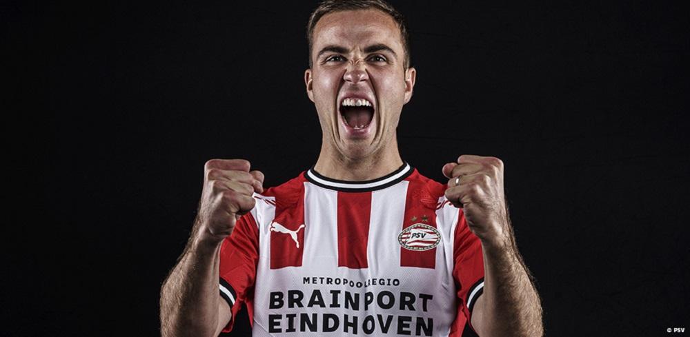 Former World Cup Winner Mario Gotze Joins PSV Eindhoven