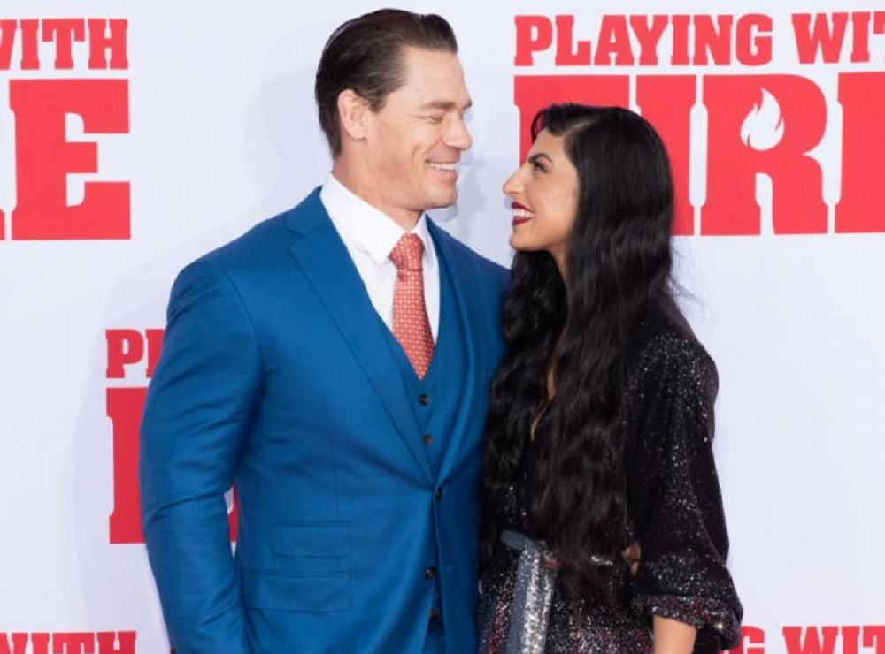 John Cena And Shay Shariatzadeh Tie A Knot In Tampa