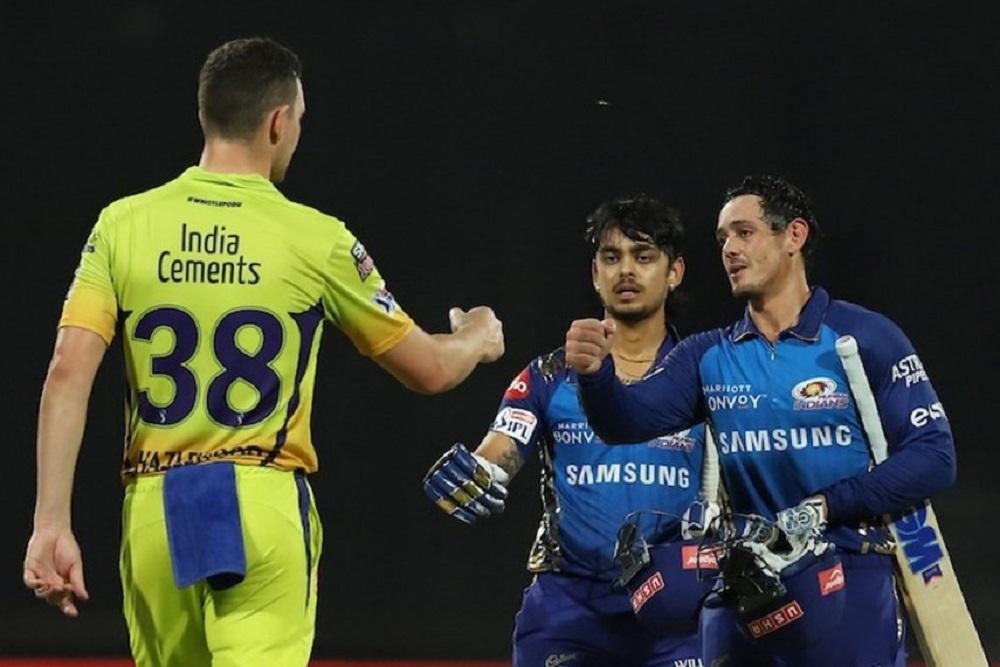 MI Humiliate Chennai Super Kings In A Massive Victory