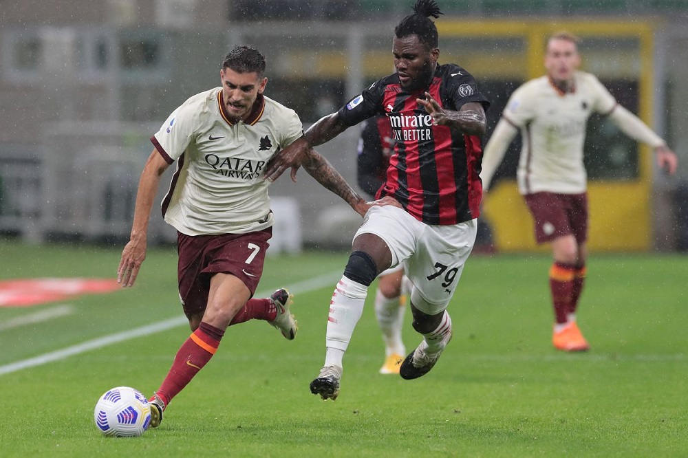 AC Milan And AS Roma Split 1 Points Each After A Thrilling Match