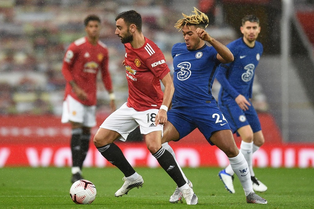 Manchester United Versus Chelsea Ends In Draw