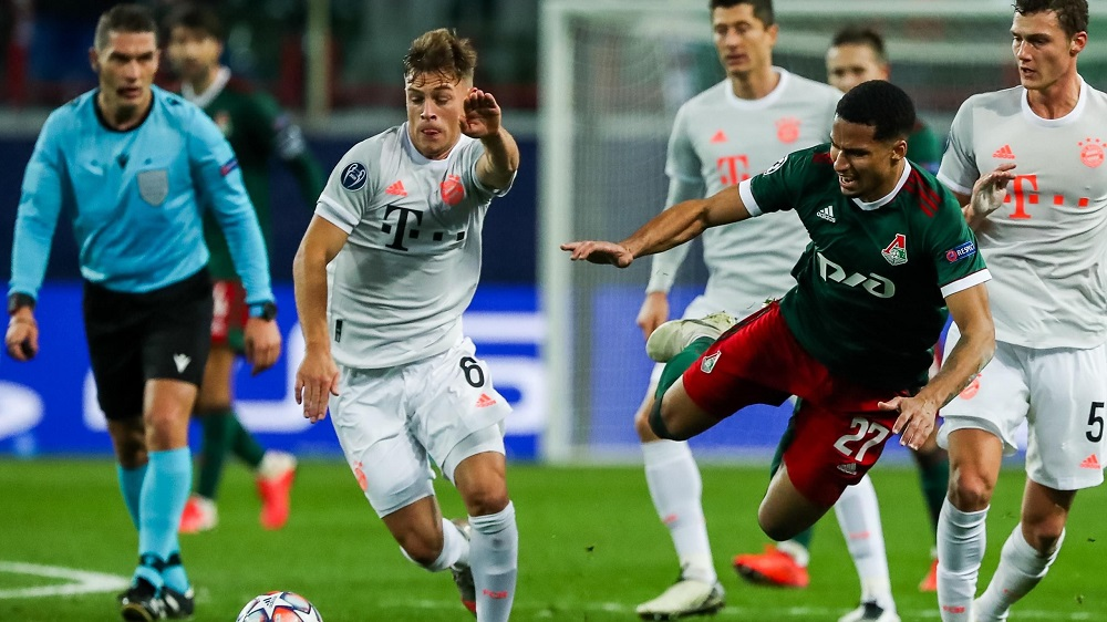 FCB earn more three points after defeating Lokomotive Moscow