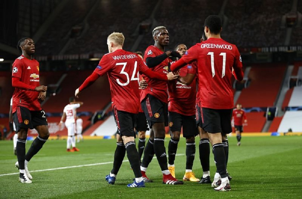 Manchester United Humiliates RB Leipzig In Matchday 2 Of UCL As Marcus Rashford Shines