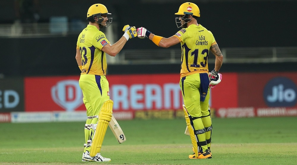 Faf Du Plessis And Shane Watson's Partnership Leads Chennai Super Kings To Their Second Win Of IPL
