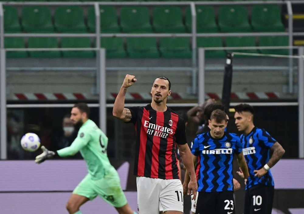 AC Milan Wins The Derby Di Milano To Remain Table Toppers In Serie A