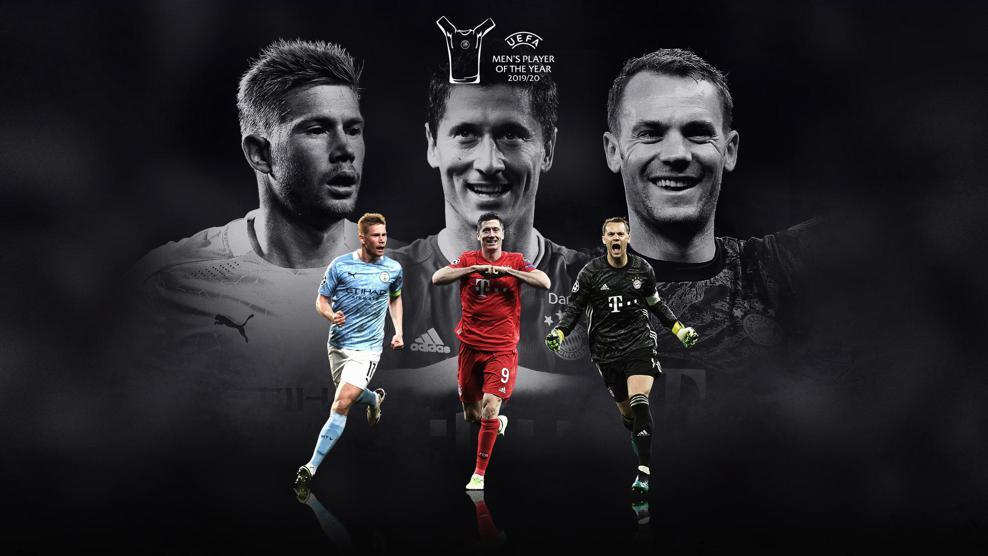 The Final UEFA Player Of The Year Results In Full