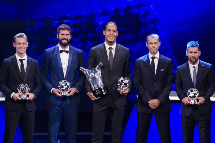 The Final UEFA Player Of The Year Results