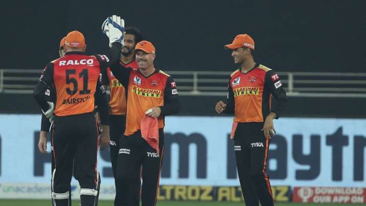 SRH Made An Astonishing Win By 69 Runs Against KXIP