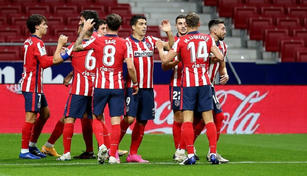 Atletico Madrid Thrash Cadiz To Climb Up To The 3rd Position