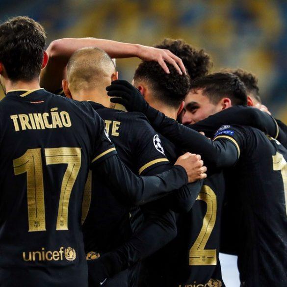 FC Barcelona Thrash FC Dynamo Kyiv In Second-Half As Braithwaite Fires Brace