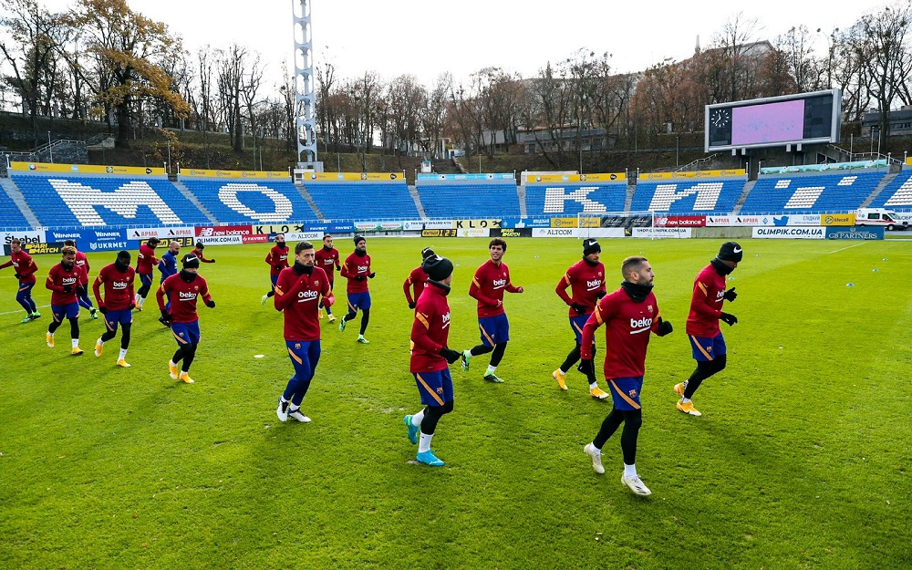 Barcelona Predicted Lineup For UCL Clash Against Dynamo Kyiv