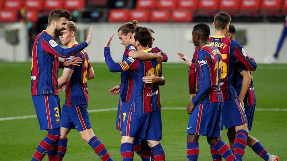 Barcelona Destroy Real Betis At Camp Nou As Messi Scores Brace