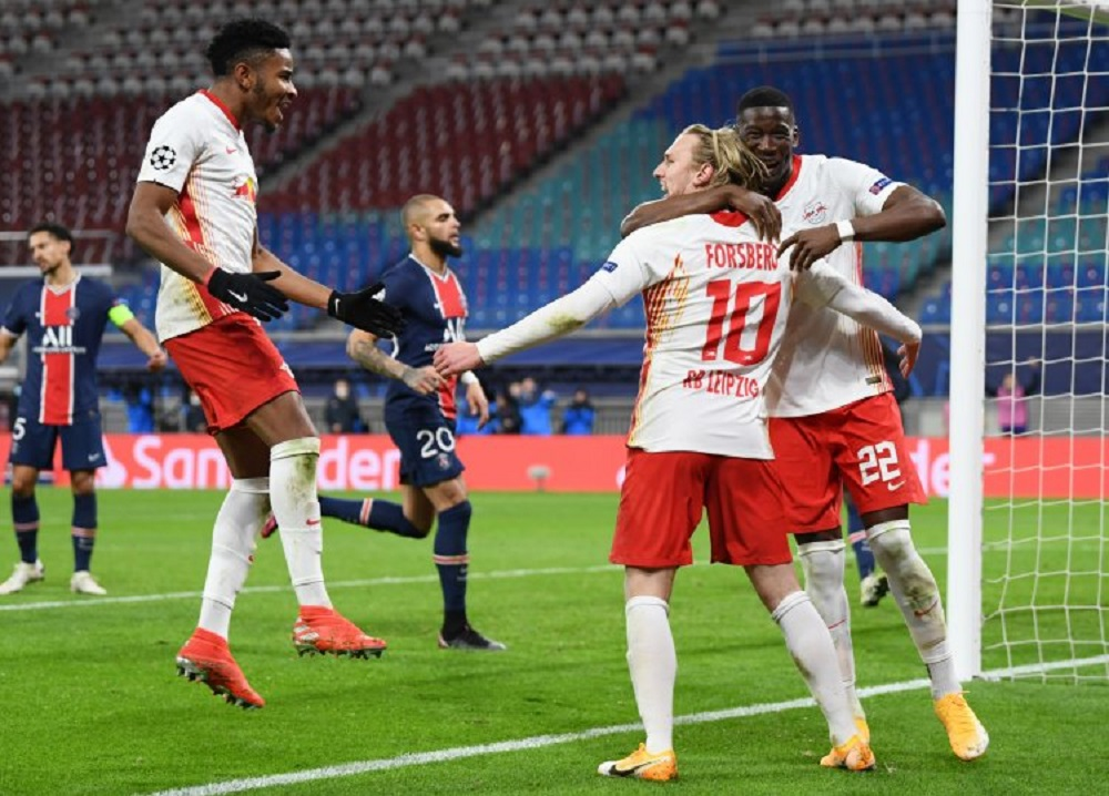 RB Leipzig Defeat Paris Saint-Germain In UCL Matchday 3