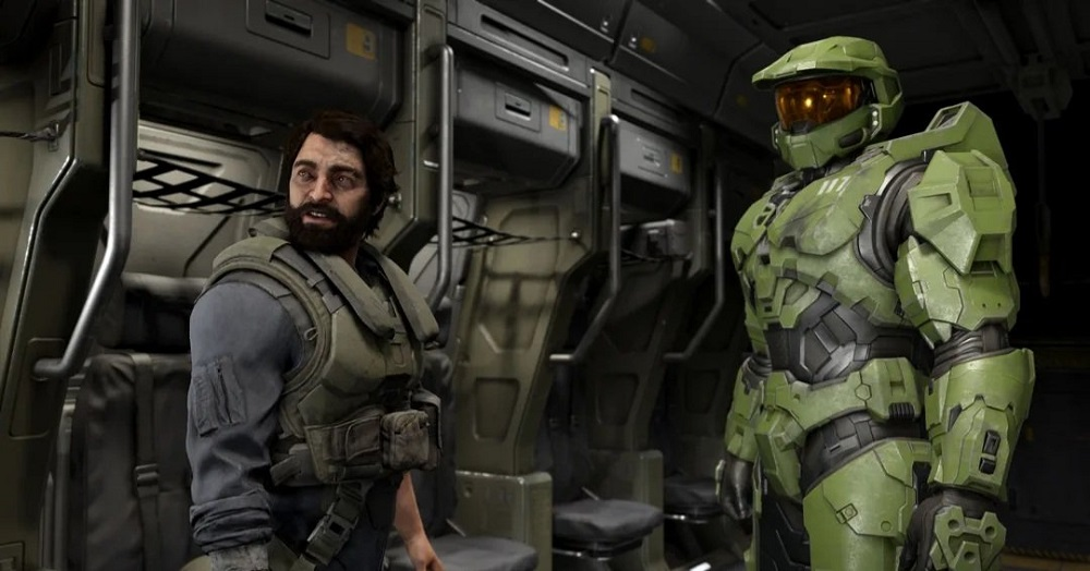 Halo Infinite- Halo Ring with Master Chief Campaign
