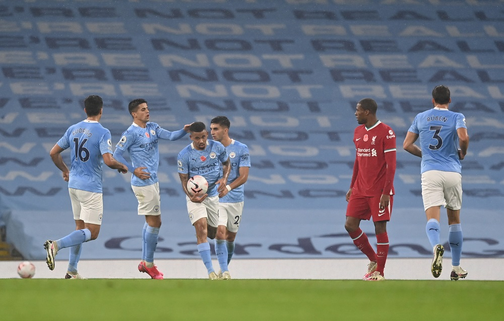 De Bruyne Misses Penalty As Manchester City Vs LFC Ends In Draw