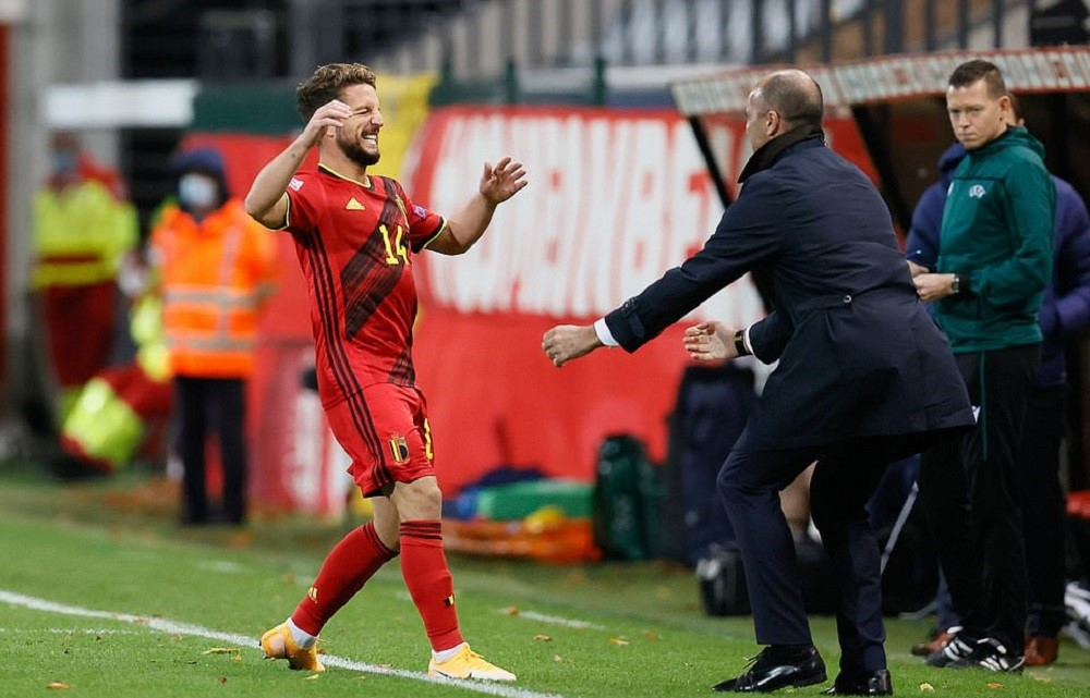 Belgian Red Devils Crush Eng To Become Table Toppers
