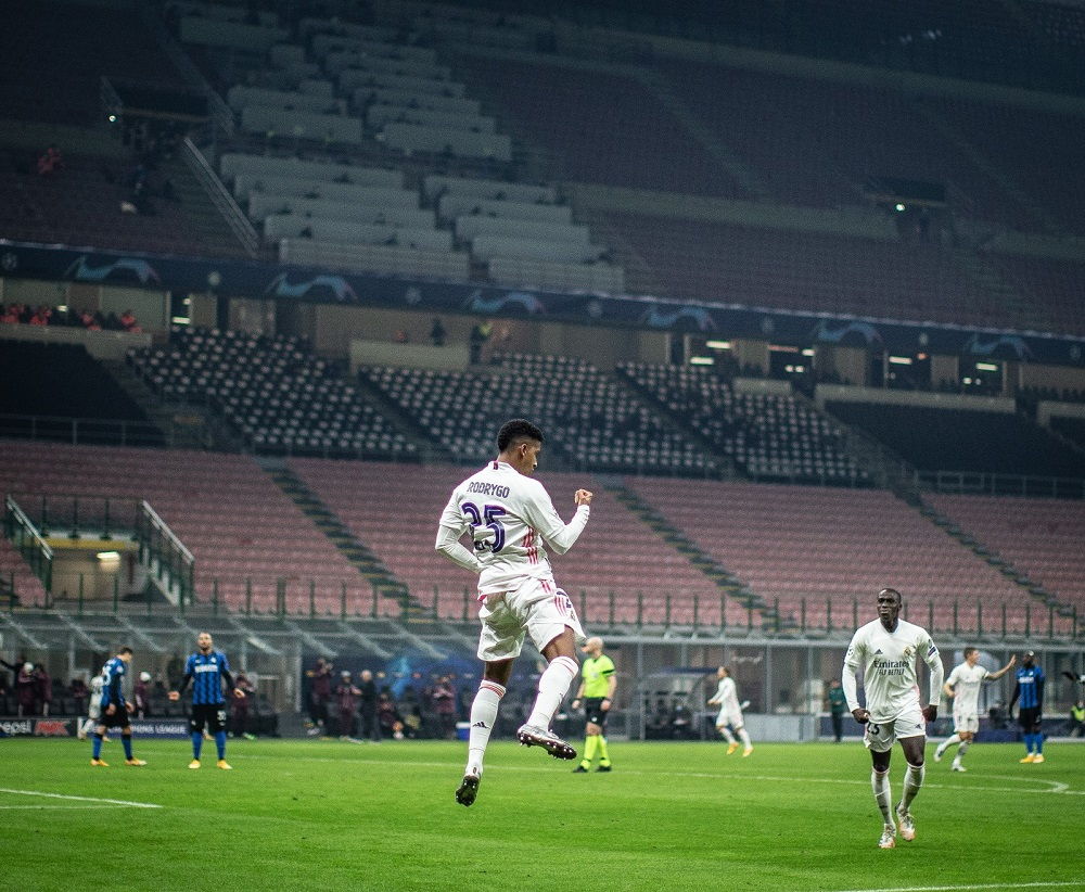 RM Defeat 10-Man Internazionale To Climb Up On Points Table