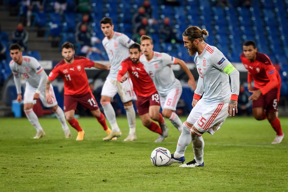 Moreno's Last-Minute Goal Helps SFC Draw Against Switzerland