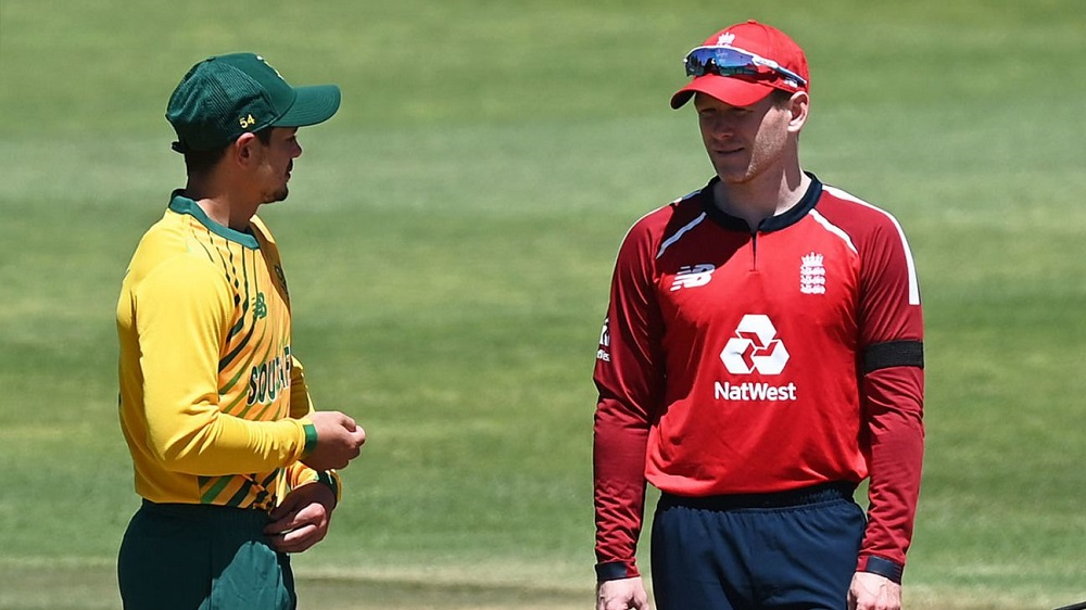 England Defeat South Africa To Win T20I Series
