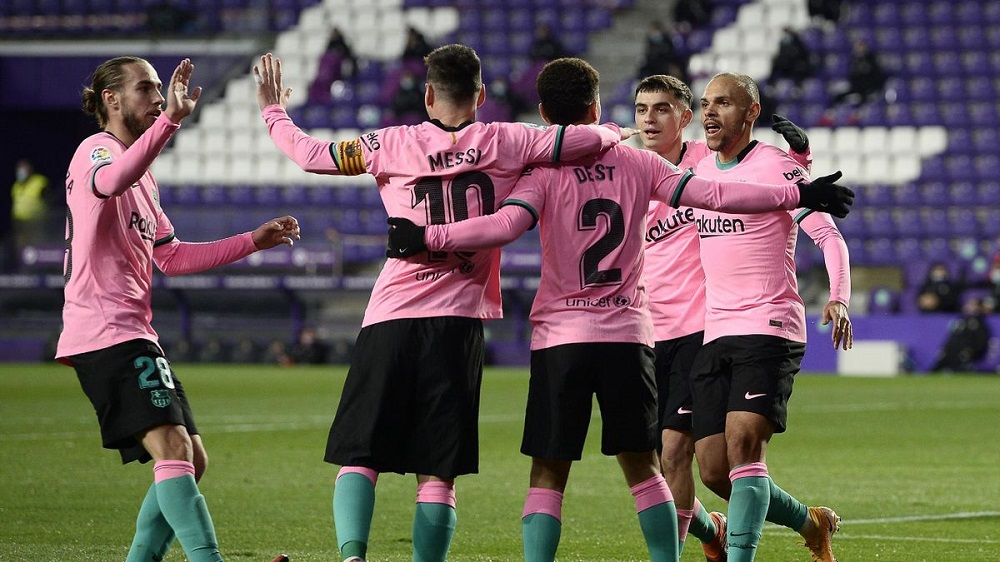 FCB Thrash Pucela To Finally Win Away From Home
