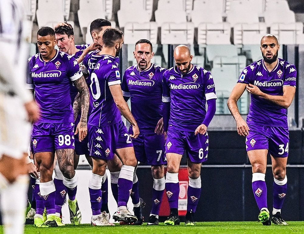 Fiorentina Crush 10-Men Juventus To Hand Their First Defeat Of The Season