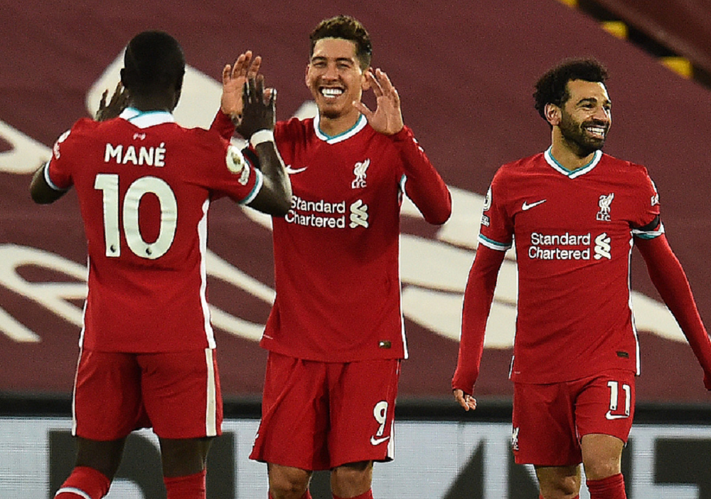 Liverpool Defeat Tottenham With Last Minute Winner From Firmino To Become Table Toppers
