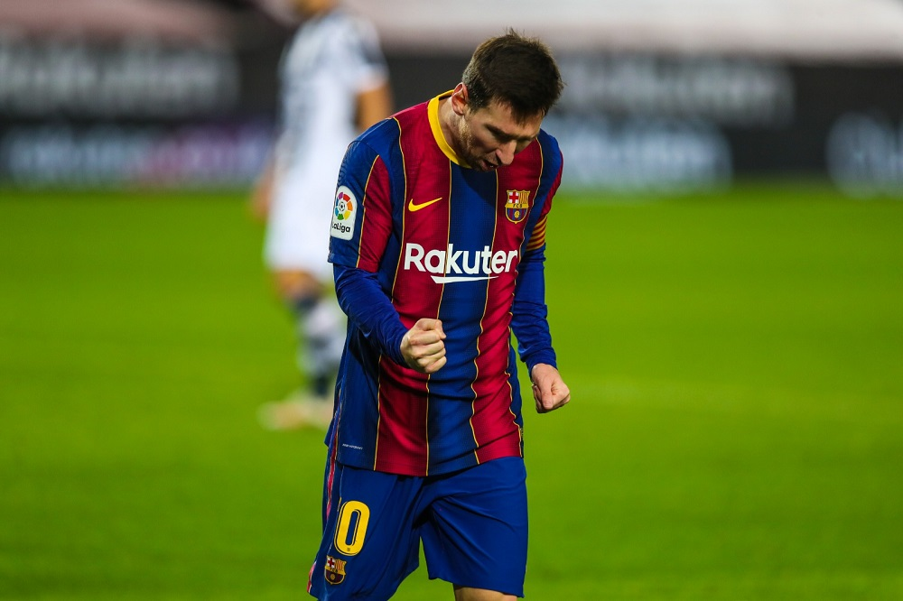 Barcelona Salvage 3 Points Against Levante With Late Winner From Messi