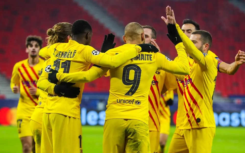 FCB Thrash FTC To Maintain 1st Position In UCL Points Table