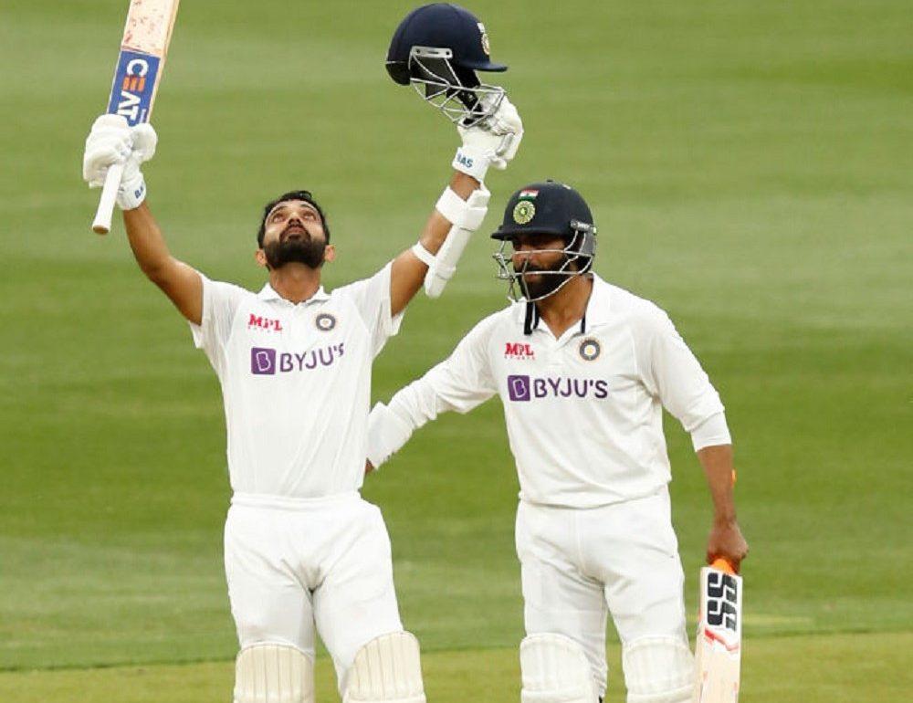 Rahane Scores Ton To Guide India On Day 2 Of MCG Test