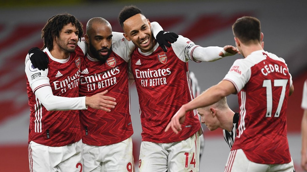 Arsenal Crush Newcastle United With Aubameyang Brace To Climb Up The Points Table