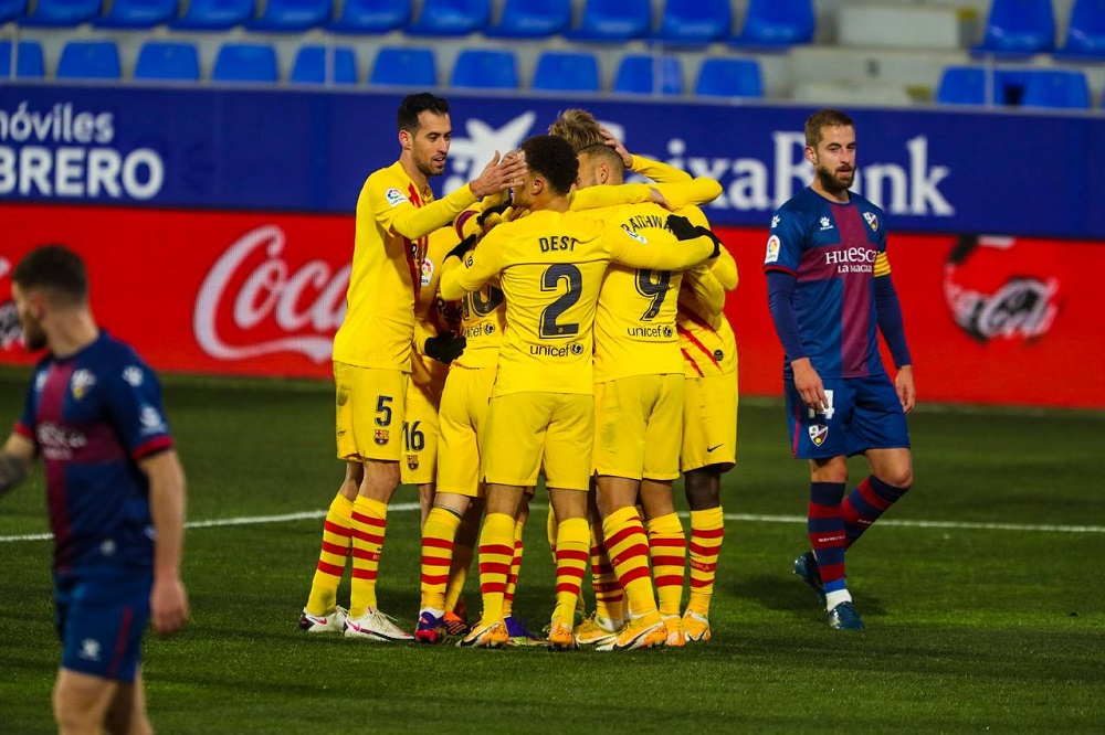 Barcelona Pick Up 3 Points Against Huesca Away From Home