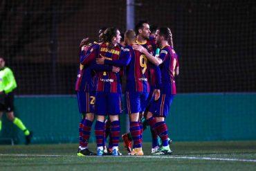 Barcelona Defeat Cornella To Move Through To The Round Of 16 Of Copa del Rey