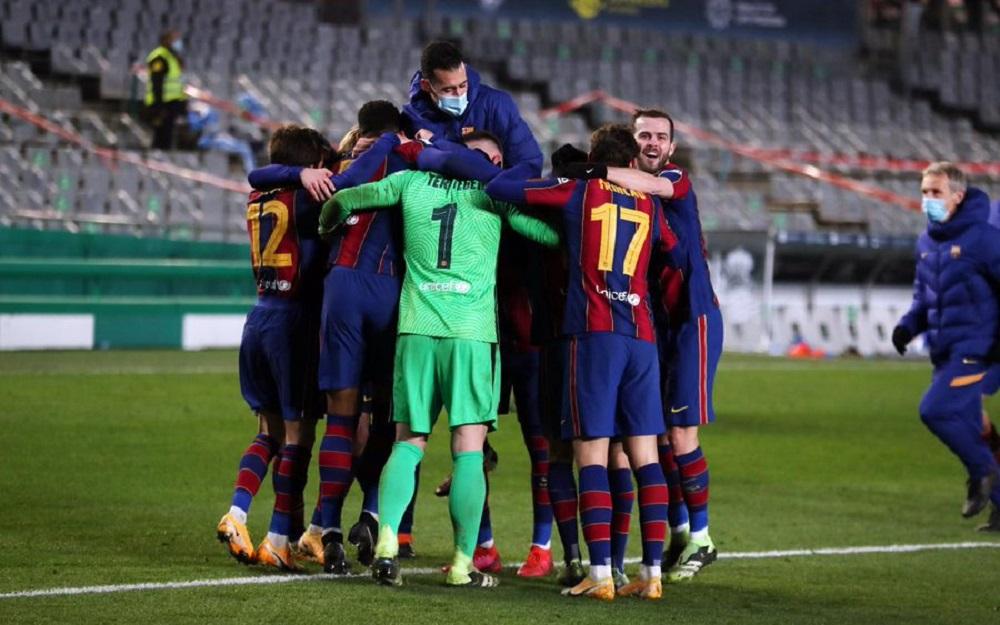 Barcelona Pave Way Their Way To Supercopa de Espana Final Despite Missing Messi