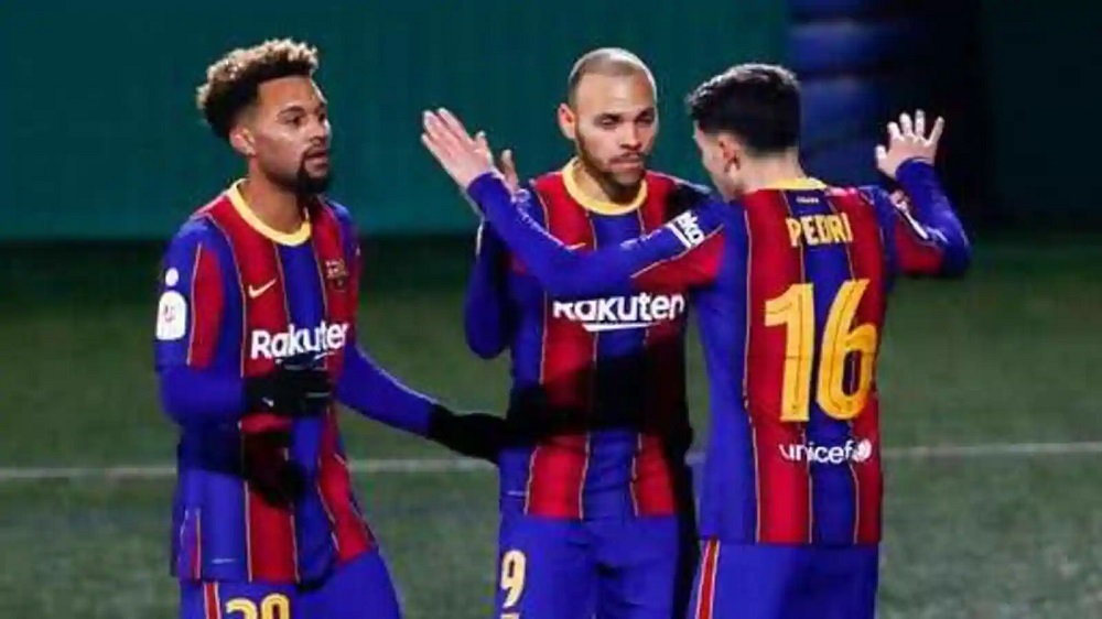 Barcelona Defeat Cornella To Move Through To The Round Of 16 Of Copa del Rey