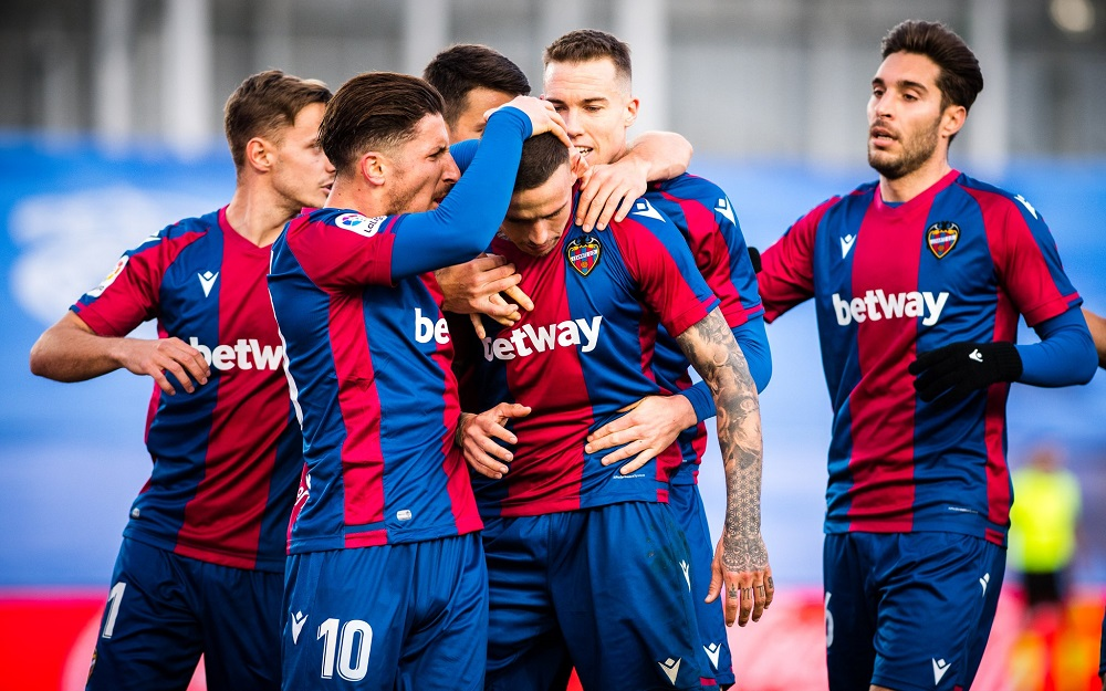 Levante Defeat 10-Man Real Madrid To Climb Up The Points Table