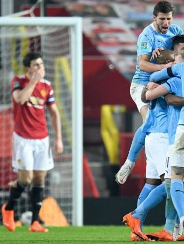 Manchester City Win Manchester Derby To Reach Carabao Cup Final