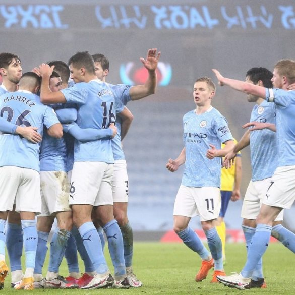 Manchester City Defeat Brighton To Climb Up To Top 3 On The Points Table