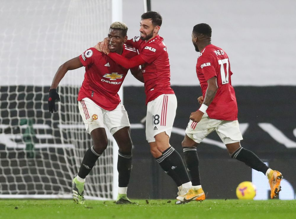 Paul Pogba Fires Manchester United To Top Of The Premier League Points Table Once Again